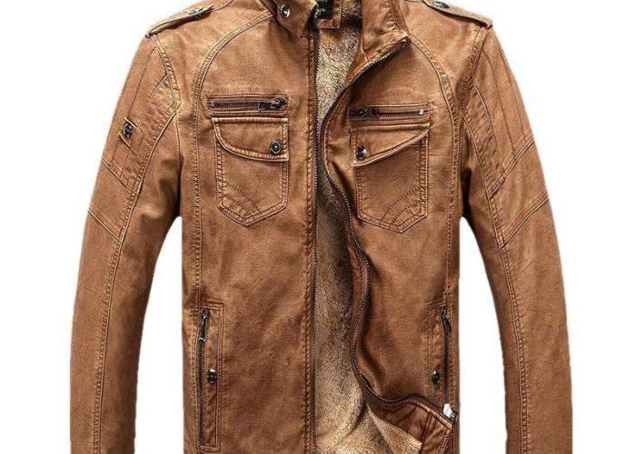 b44e6a8d61490b ᐅ Blouson cuir homme hiver   où acheter le meilleur.