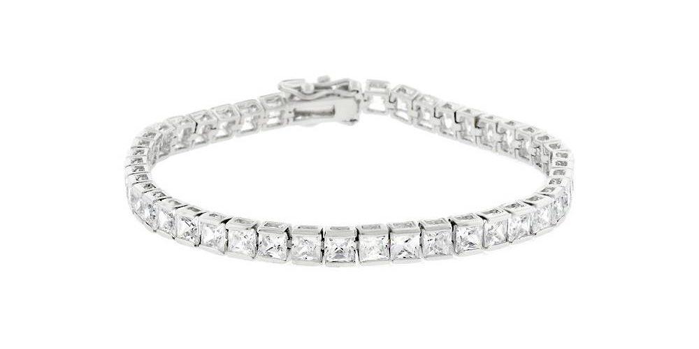 Acier Inoxydable Bracelet Oxyde de Zirconium Vintage Glitz JF00118791 Fossil
