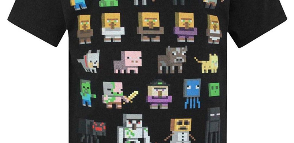 Vanilla Underground Minecraft Mini Mob Boys Green T-Shirt